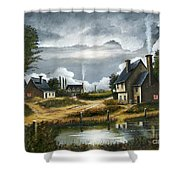 Quiet Life Shower Curtain by Ken Wood