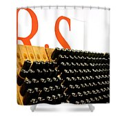 R Stuart Wine 21126 Shower Curtain