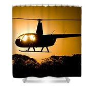 R44 Sunset Shower Curtain