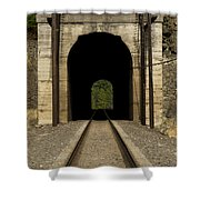 Railroad Tunnel 3 Bnsf 1 B Shower Curtain