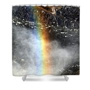 Rainbow And Falls Shower Curtain