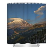 Rainier Capped Shower Curtain