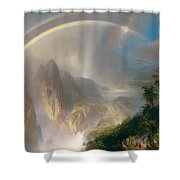 Rainy Season In The Tropics Shower Curtain