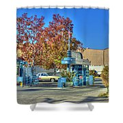 Raleigh Studios Hollywood Ca Film Production Stages Shower Curtain