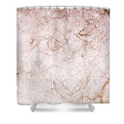 Recycled Paper Texture Shower Curtain