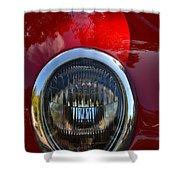 Red Classic Ford Shower Curtain
