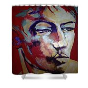 Red Blooded American Shower Curtain
