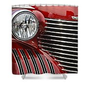 Red Cadillac Shower Curtain