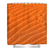 Red Dune Shower Curtain