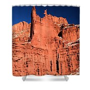 Red Rock Fisher Towers Shower Curtain