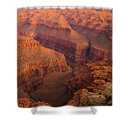Grand Canyon From Kanab Point Shower Curtain