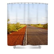 Red Soil Shower Curtain