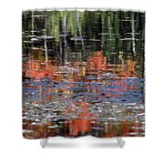 Reflecting Fall Shower Curtain