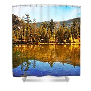 Reflections Of Fall Shower Curtain