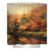 Reflections Of October Shower Curtain