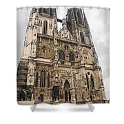 Regensburg Cathedral Shower Curtain