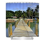 Resort Shower Curtain by Bruce Bain