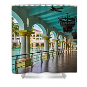 Resort In Dominican Republic Shower Curtain