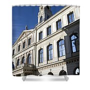 Riga Town Hal Shower Curtain