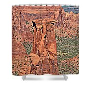 Rim Rock Colorado Shower Curtain