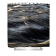 River Flow Shower Curtain by Bob Orsillo