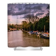 River Medway Shower Curtain