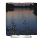 River Murray Sunset Series 2 Shower Curtain