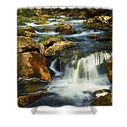 River Rapids Shower Curtain