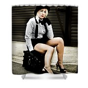 Road To Stardom Shower Curtain