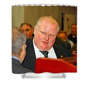 Rob Ford Shower Curtain