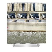Robert Moses Niagara Hydroelectric Power Station Shower Curtain