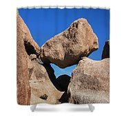 Rock Formation - Joshua Tree National Park Shower Curtain