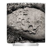 Rock Of Ages Shower Curtain by Donna Blackhall