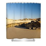 Rocky Beach Shower Curtain