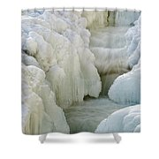 Rocky Gorge Scenic Area - White Mountains New Hampshire Usa Shower Curtain