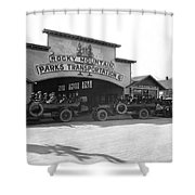 Rocky Mountain Touring Cars Shower Curtain