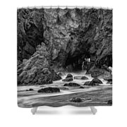 Rocky Surf 2 Shower Curtain