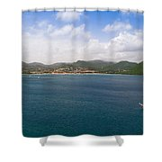 Rodney Bay St. Lucia Shower Curtain