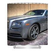 Rolls Royce Shower Curtain
