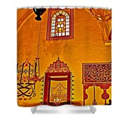 Room For Rumi's Sarcophagus In Konya-turkey  Shower Curtain