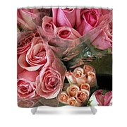 Roses For Sale Shower Curtain