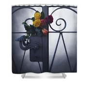 Roses Shower Curtain by Joana Kruse