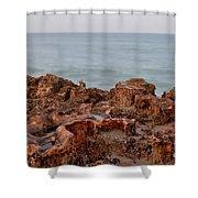 Ross Witham Beach Hutchinson Island Martin County Florida Shower Curtain