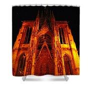 Rouen Church Shower Curtain