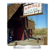 Route 66 - Bagdad Cafe Shower Curtain