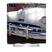 Route 66 - Classic Car Shower Curtain