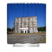 Route 66 Drive-in Movie Shower Curtain
