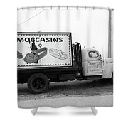 Route 66 - Oklahoma Trading Post Truck Shower Curtain