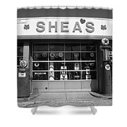 Route 66 - Shea's Filling Station Shower Curtain