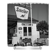Route 66 - Sinclair Station Shower Curtain